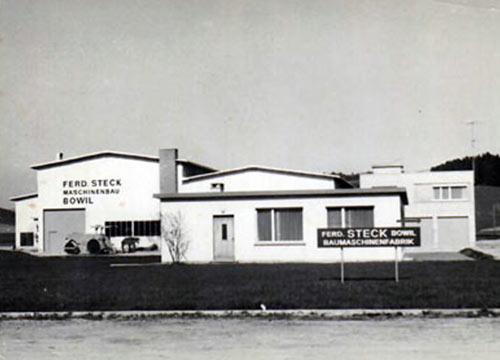 New construction in Bowil around 1960